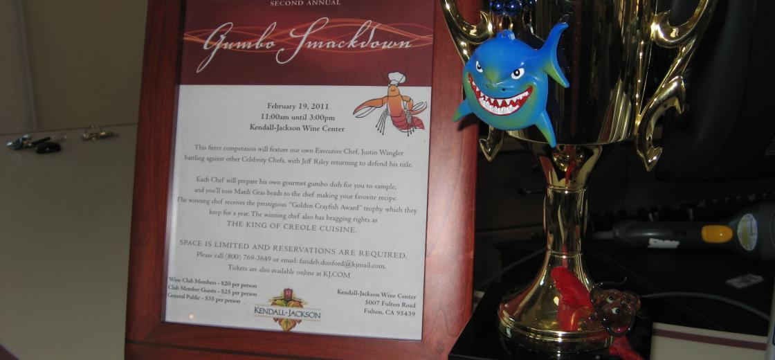 Gumbo Smackdown Trophy