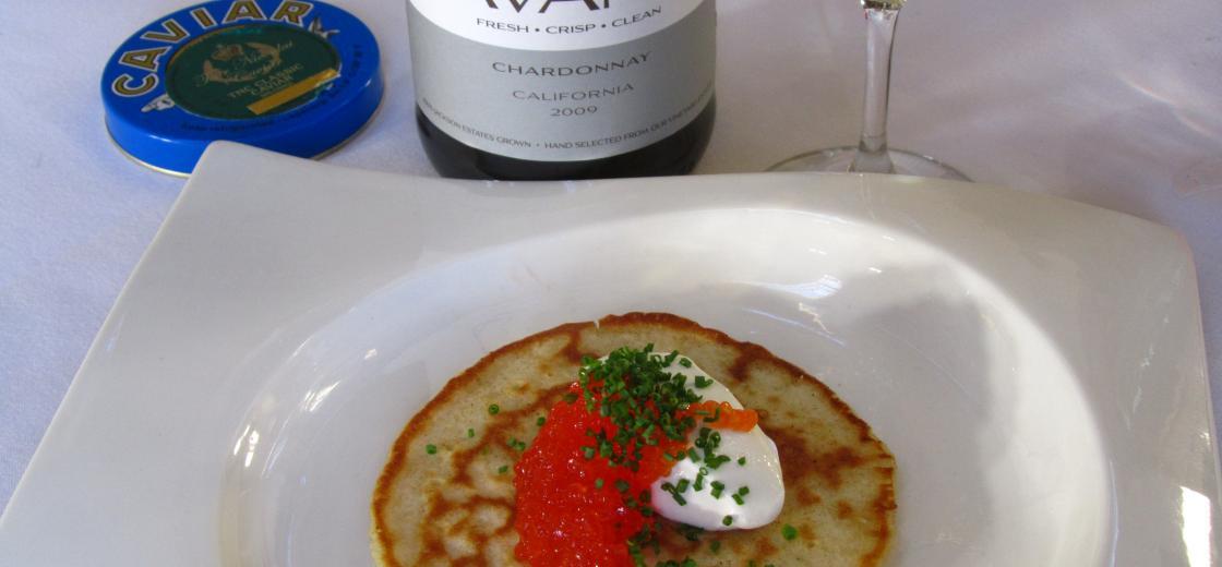 Avant, Caviar, Blini