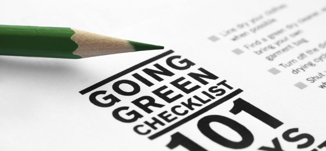 Going Green Checklist