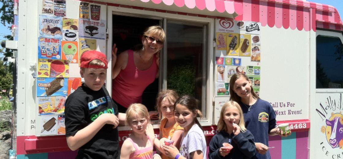 Molly Moo's Ice Cream Truck