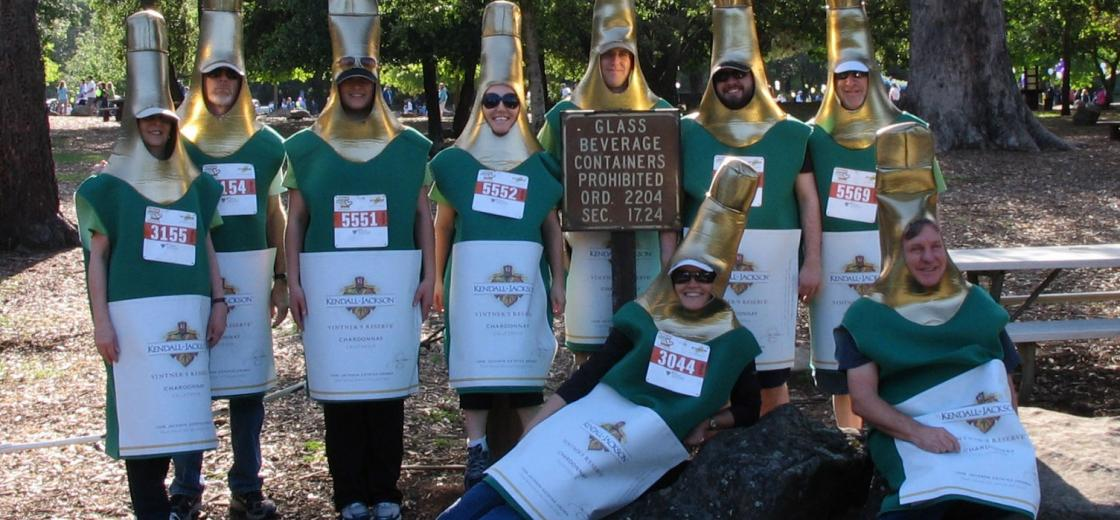 2012 Human Race bottle walkers