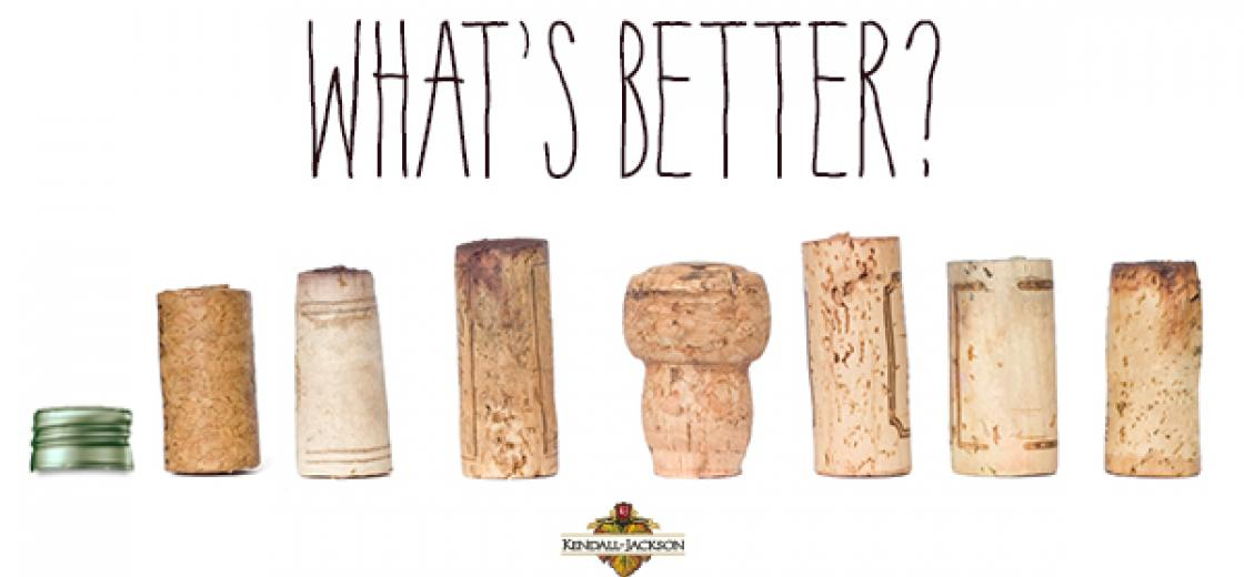 1.What's better, cork, synthetic cork or screwtop?