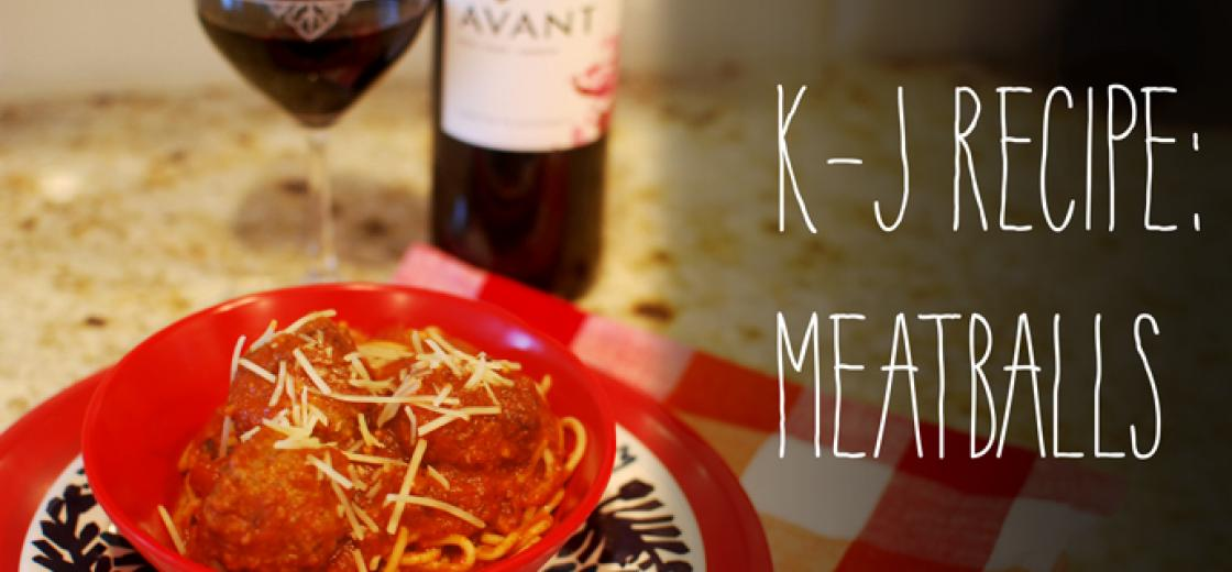K-J Recipe: Meatballs