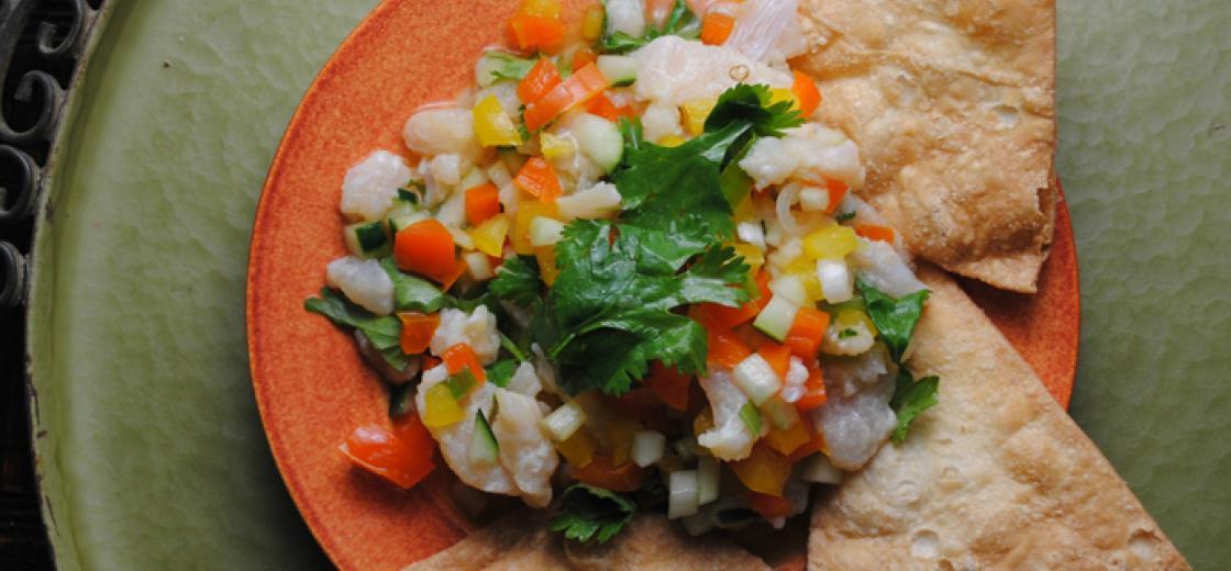 Summer Mexican Mingle Ceviche Recipe