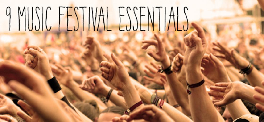 9 Music Festival Essentials