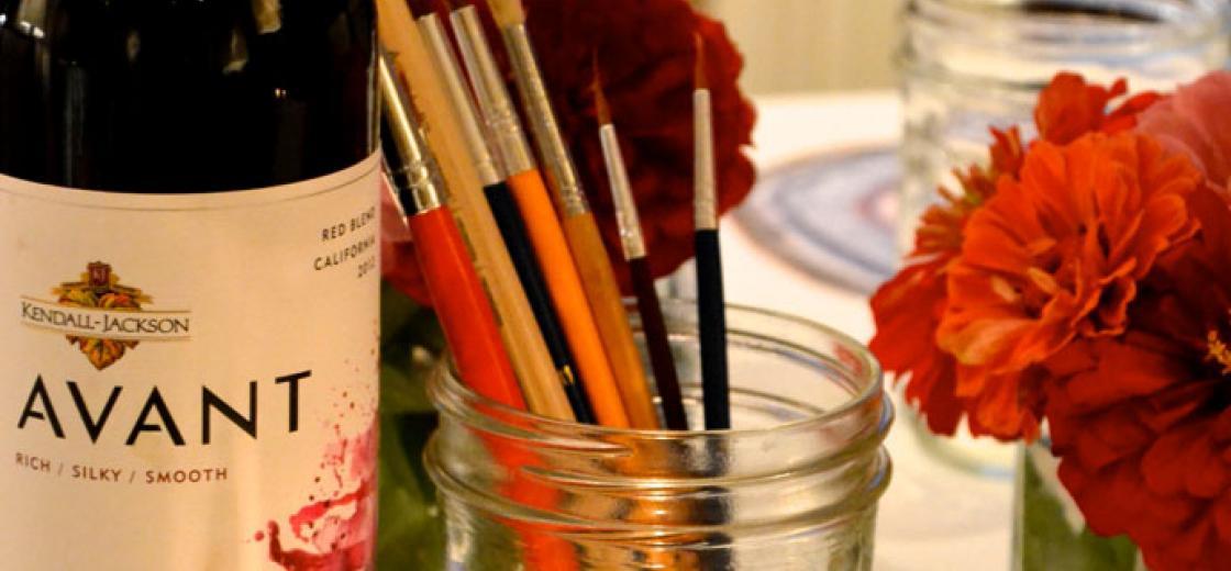 #GirlsGonePaint - Art and Wine Party
