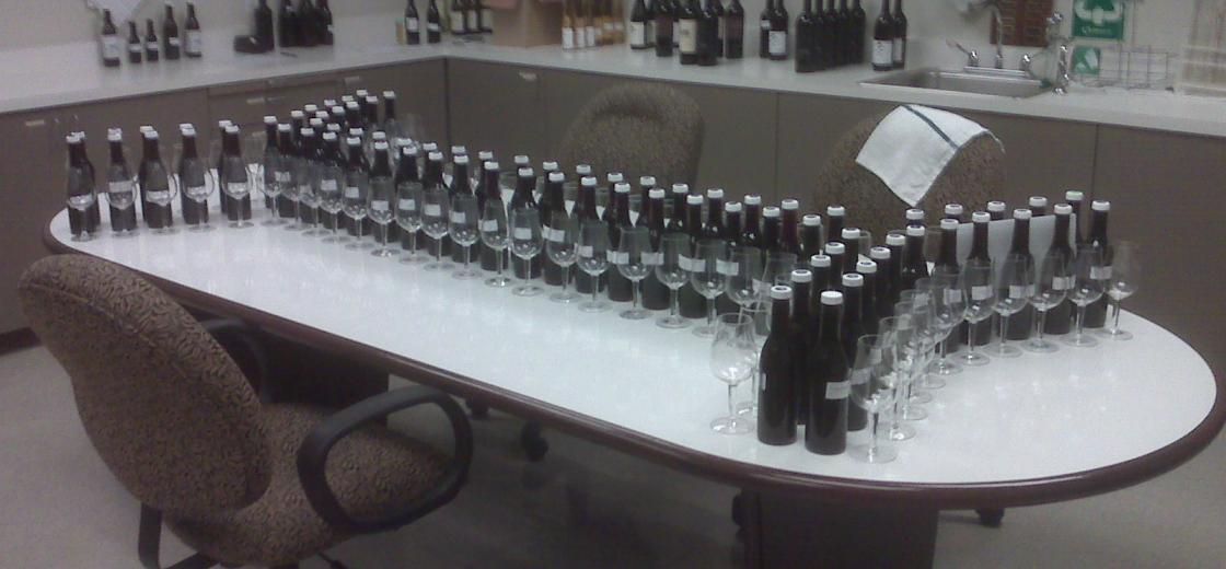 Quarterly Inventory Tasting Day One
