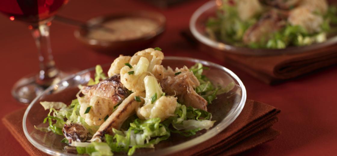 Crab Salad with Réulade
