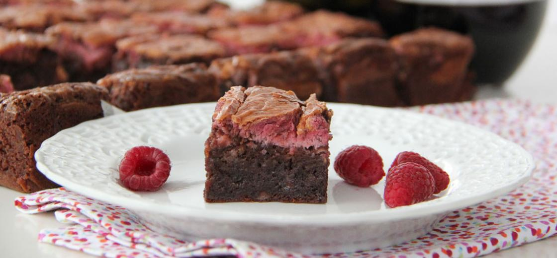 This delicious Raspberry Cheesecake Swirl Brownie recipe is the ultimate chocolate dessert, sure to satisfy even the biggest sweet-tooth.