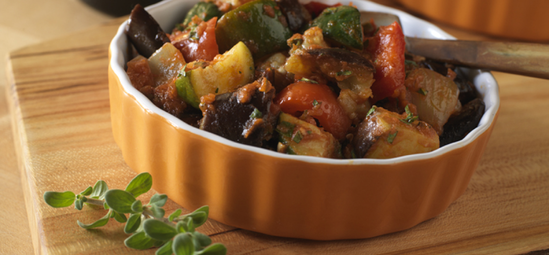 Ratatouille with Summer Herbs