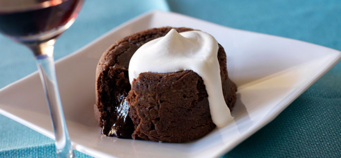 Warm Chocolate Puddle Cakes