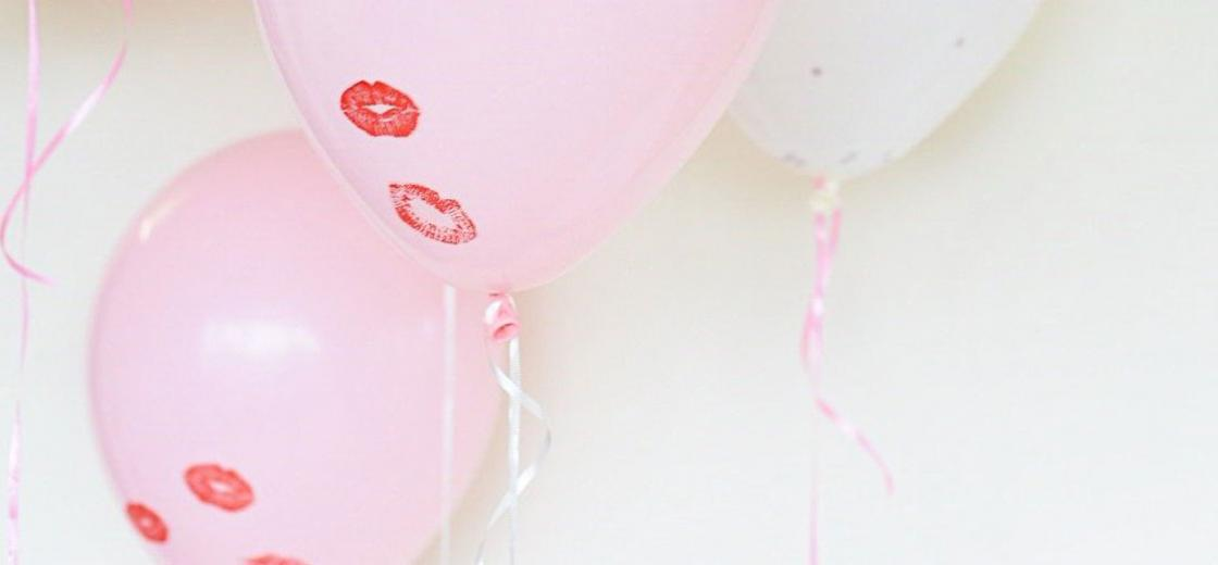 Whether you are celebrating with a significant other or having the gals over for a little Galentine's Day, this festive Valentine's Day balloon DIY is a must!