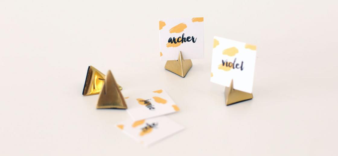 Printable Place Cards & Tips for Setting a Fun Gathering Table