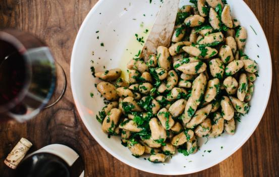 This gnocchi, for instance, is so much easier to prepare than you might imagine. I've used in-season sunchokes in place of the traditional potato here for a nutty, complex flavor and dressed the dish with a lemon butter sauce to inspire dreams of summer.