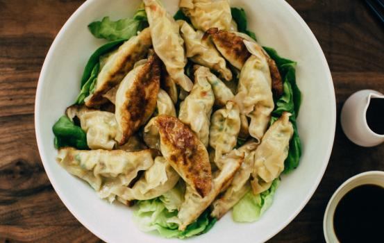 You can take your favorite Chinese restaurant off speed-dial with these super easy, homemade and healthful spring vegetable potstickers.