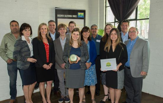 We are excited to announce that Jackson Family Wines was recently named the 2016 recipient of the prestigious California Green Medal Leader Award for sustainable wine growing leadership.