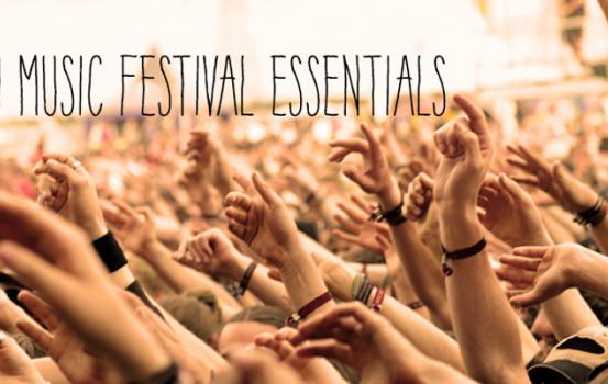 9 Music Festival Essentials