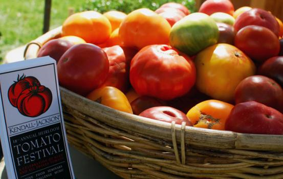 The 18th Annual Kendall-Jackson Heirloom Tomato Festival