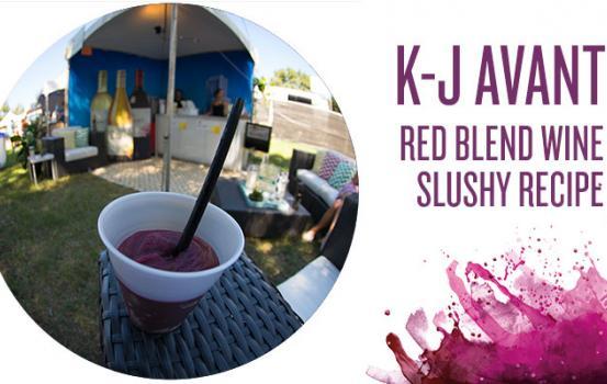 K-J AVANT Red Blend Wine Slushy Recipe