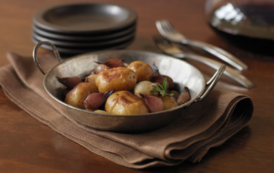 Balsamic Glazed Potatoes and Onions