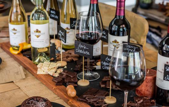 For the love of chocolate! Gather your friends and family for a decadent wine and chocolate pairing tasting party.