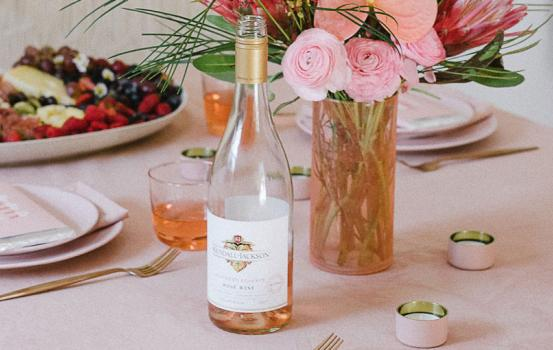 Who would've thought that you could use Avocados as a natural pink dye? Try making these DIY Pink, Avocado-Dyed Table Linens at your next Galentine's Day or Valentine's Day dinner party.