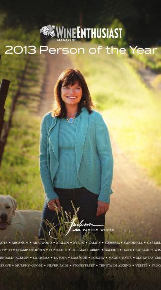Barbara Banke is the first female to receive the Wine Enthusiast Magazine's Wine Personality of the Year award