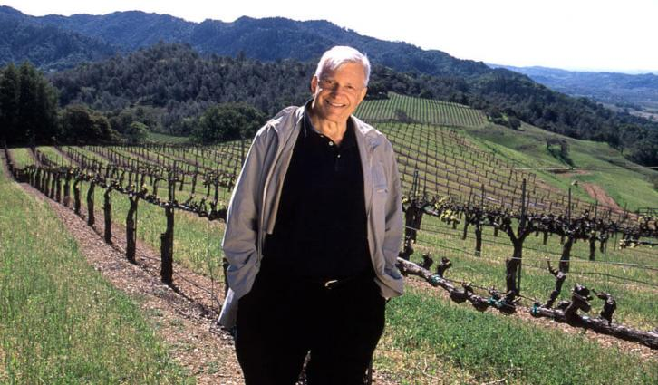 Jess Jackson is awarded lifetime achievement by Wine Enthusiast Magazine