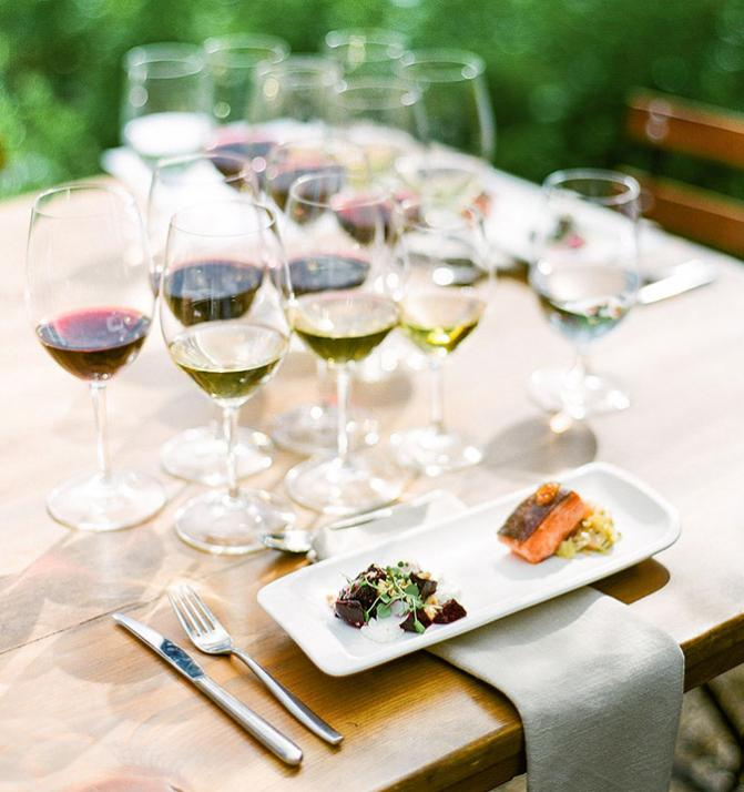 kendall-jackson food and wine pairings