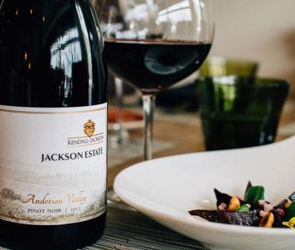 Jackson Estate Wine Collection: Chardonnay, Cabernet Sauvignon, Merlot, and Pinot Noir