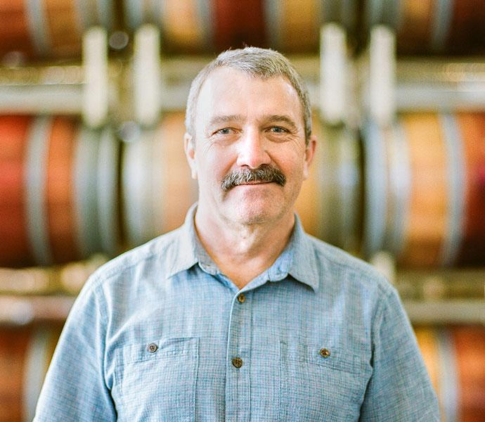 Winemaker Mark Theis