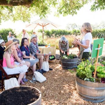 Kendall-Jackson Harvest Celebration Garden Seminar