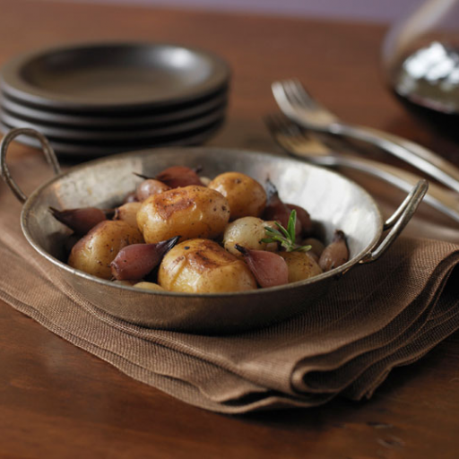 Balsamic Glazed Potatoes and Onions