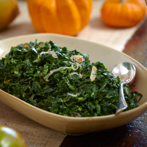 Brazilian-style Collard Greens