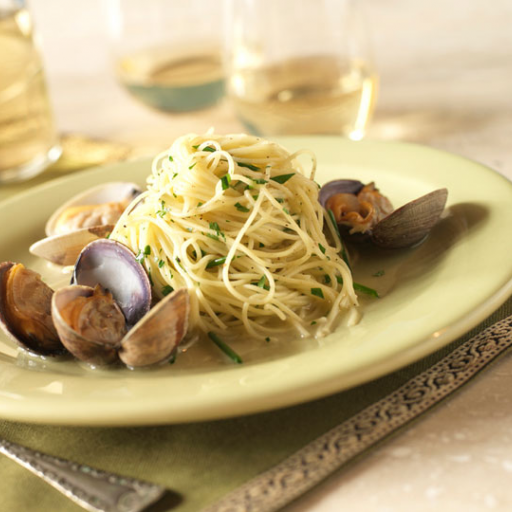 Capellini with Clams
