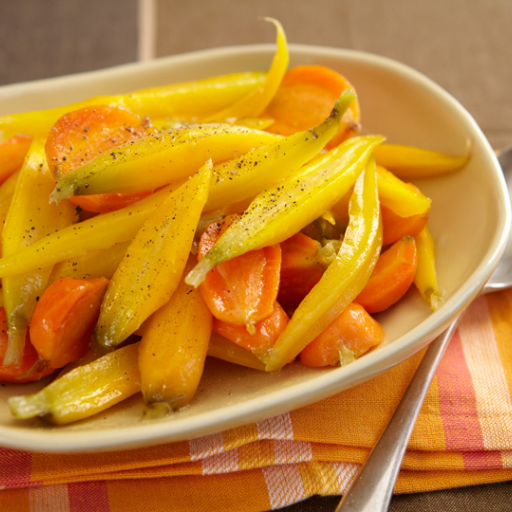 Chardonnay Verjus Glazed Carrots