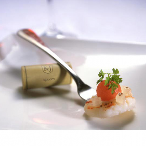 Poached Shrimp with Pickled Watermelon