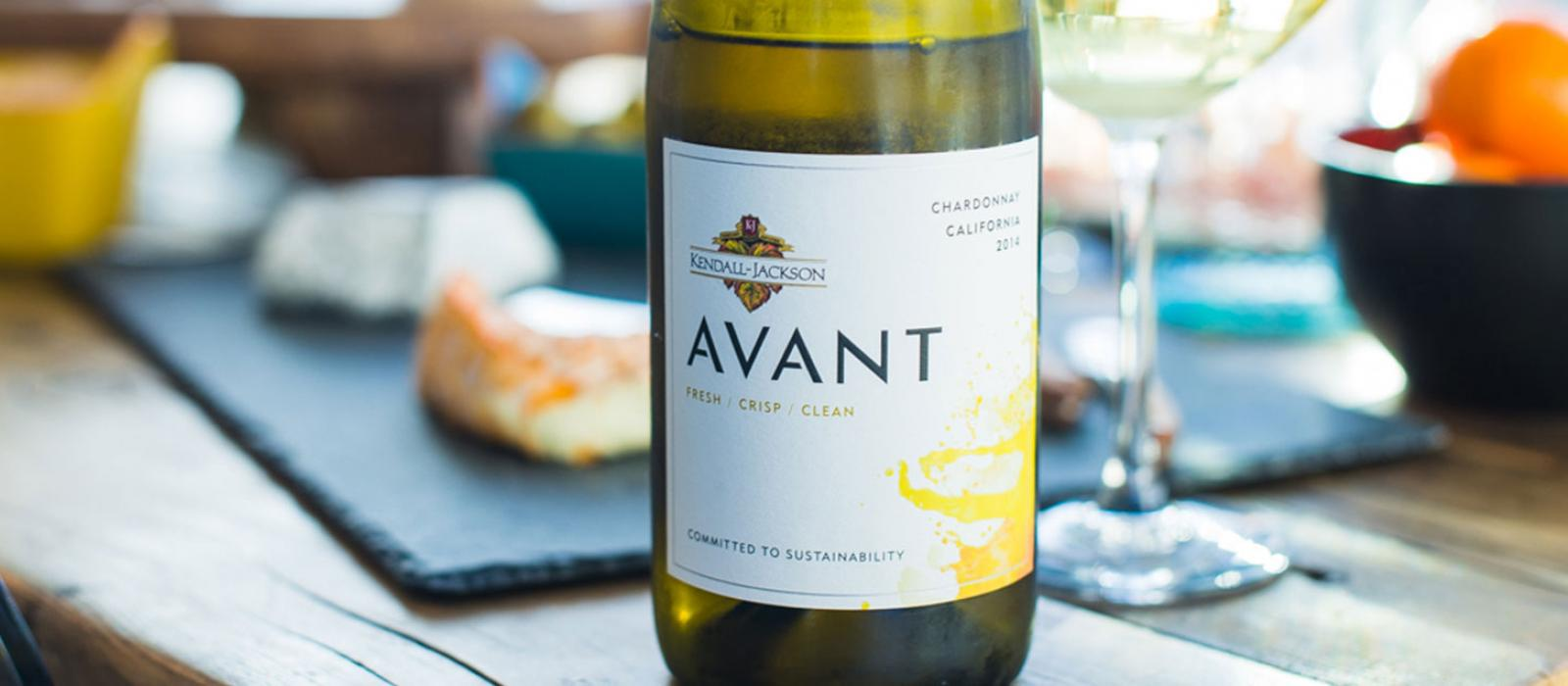 K-J AVANT Wine Collection: Sauvignon Blanc, Red Blend, and Chardonnay