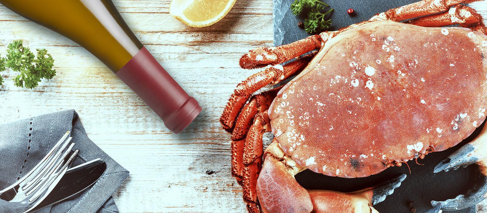 Chardonnay & Crab Feast