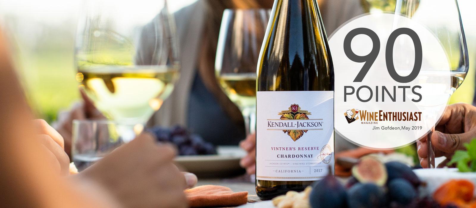 Kendall-Jackson Vintner's Reserve Chardonnay - 2017 Vintage