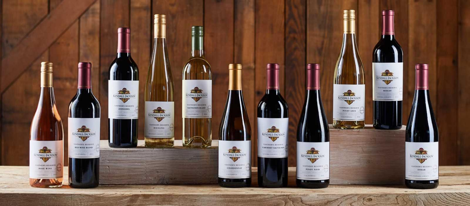 Kendall-Jackson Vintner's Reserve Wine Collection