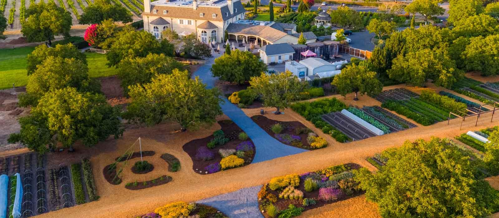 Kendall Jackson Winery Gardens