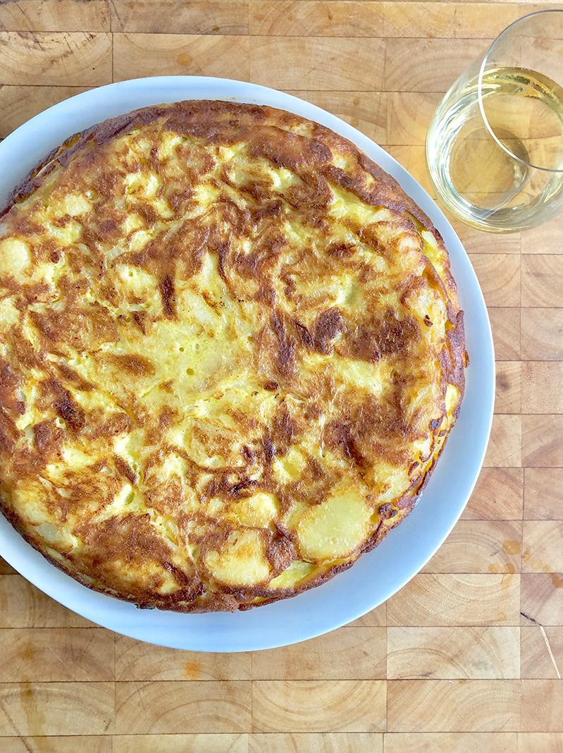 Chef Justin Wagner's Tortilla Espanola Recipe